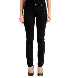 Versus Versace Black Pin Detail Slim Fit Jeans