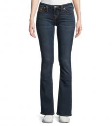 True Religion Indigo Becca Mid-Rise Boot-Cut Jeans
