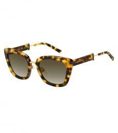 Marc Jacobs Brown Tortoise Sunglasses