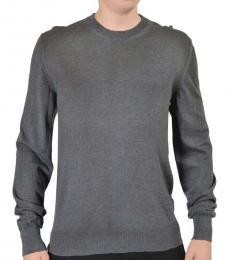 Dolce & Gabbana Grey Crewnwneck Sweater