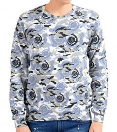 Versace Collection Multicolor Graphic Print Sweater
