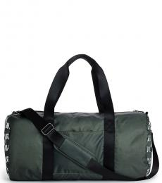 True Religion Military Green Utility Large Duffle Bag
