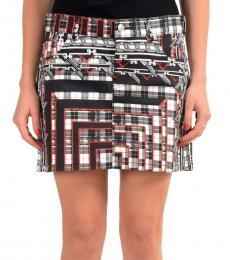 Versus Versace Multicolor Printed Mini Skirt