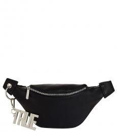Black Chain Belt Fanny Pack