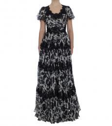 Black Lace Ball Dress