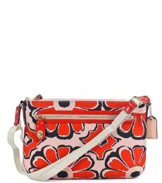 Coach Orange Swingpack Medium Crossbody