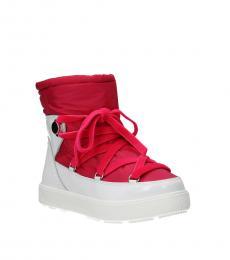 White Fuchsia Stephanie Boots