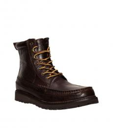 Ralph Lauren Dark Brown Willingcott Boots