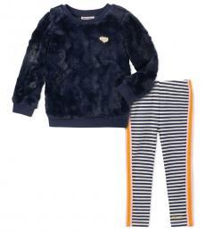 Juicy Couture 2 Piece Sweater/Leggings Set (Little Girls)