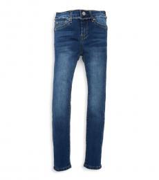 Girls Saguaro Buttoned Skinny Jeans