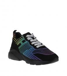 Black Multi Active Sneakers
