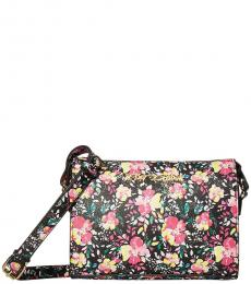 Black Printed Small Crossbody