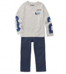 True Religion 2 Piece T-Shirt/Jeans Set (Little Boys)