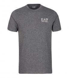 Grey Logo Graphic T-Shirt