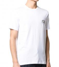 White Logo Detail T-Shirt