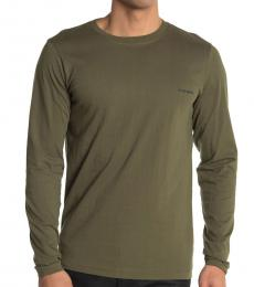 Olive Justin Long Sleeve T-Shirt