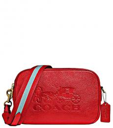 Red Jes Medium Crossbody
