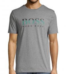 Grey Tiburt Logo T-Shirt