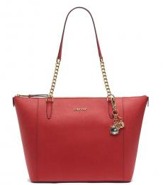 Red Marybelle Medium Tote