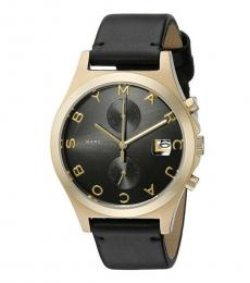 Marc Jacobs Black Logo Watch