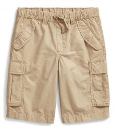 Ralph Lauren Boys Boating Khaki Ripstop Cargo Short