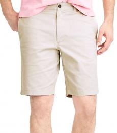 Off White Gramercy Flex Khaki Shorts