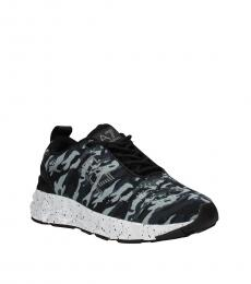 Emporio Armani Grey Memory Foam Sneakers