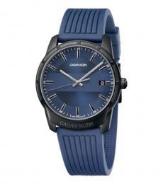 Calvin Klein Blue Evidence Watch