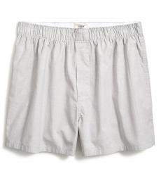 J.Crew Grey End On End End-On-End Boxers