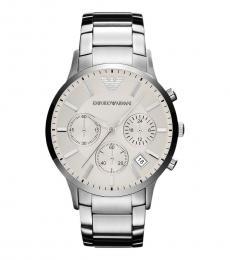 Emporio Armani Silver Sportivo Watch