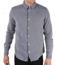 Armani Jeans Blue Slim Fit Shirt