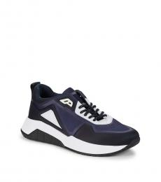 Hugo Boss Navy Atom Runn Sneakers