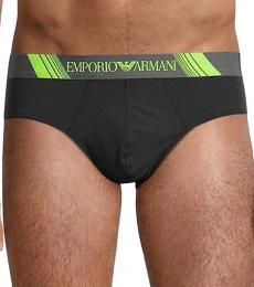 Emporio Armani Black Logo Brief