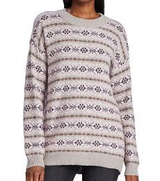 Ralph Lauren Multi Printed Sweater Top