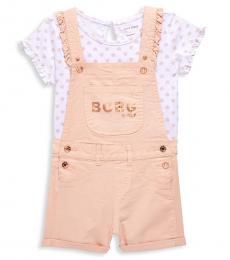BCBGirls 2 Piece Top/Shortalls Set (Little Girls)