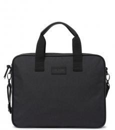 Ted Baker Black Document Large Briefcase Bag