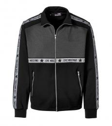 Love Moschino Black Logo Colorblock Jacket