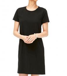 J.Crew Black Casual T-Shirt Dress