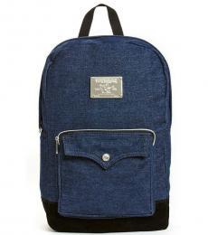 True Religion Denim Front Pocket Large Backpack