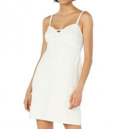 Betsey Johnson Vanilla Frosting Bow Party Dress