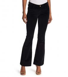 True Religion Black Corduroy Flare Jeans