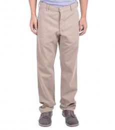 Armani Jeans Beige Casual Pants
