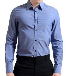 Versace Jeans Blue Button Down Shirt