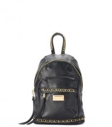 Juicy Couture Black Chain Link Mini Backpack