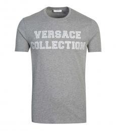 Grey Graphic Printed T-Shirt