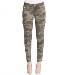 Olive Skinny Cargo Pants