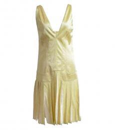 Versus Versace Light Yellow Tunic Dress
