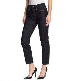 AG Adriano Goldschmied Signature Isabelle High Rise Crop Jeans