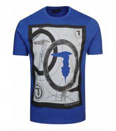 Blue Graphic Logo T-Shirt