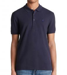 Versace Collection Blueprint Medusa Logo Polo